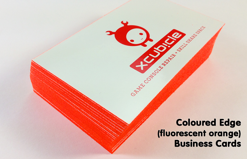 24 pt thick business cards the thickest business cards around add impact to your 24pt business cards with coloured edges select your custom cmyk colour value or go with our bright florescent options reheart Gallery