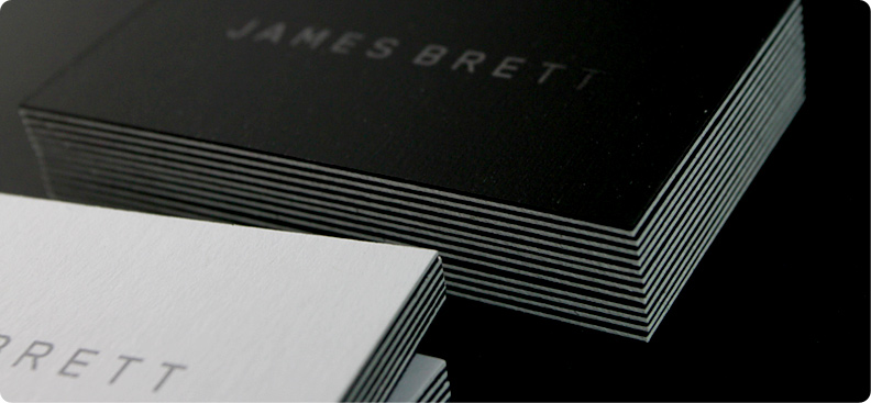 Premium black business cards exclusively from jukeboxprint premium black business cards colourmoves