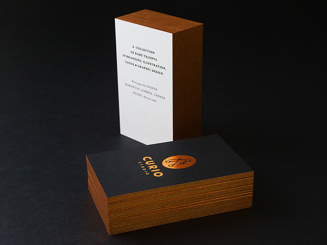 Premium Black Business Cards: A Whole New Echelon - Inspiredology