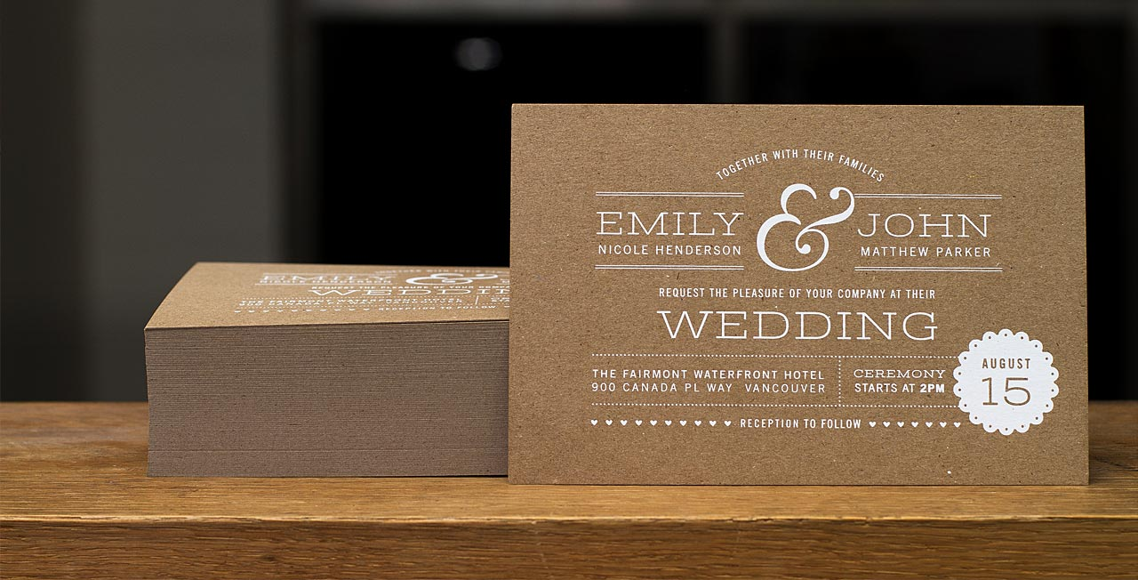 Wedding Invitations Simple as perfect invitation layout