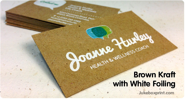 Request A Special Business Card Sample Pack From JukeboxprintCom