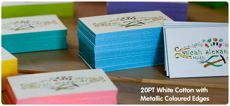 Cotton Business Cards From Jukeboxprint Com