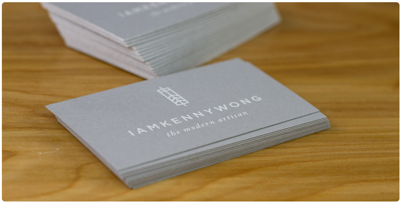 premium grey business cards from jukeboxprint
