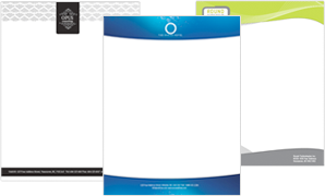 Create your very own letterheads today - Jukeboxprint.com
