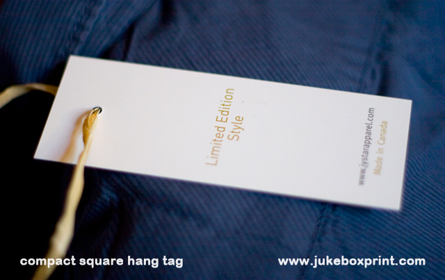 Mini Hang Tags By JukeboxprintCom