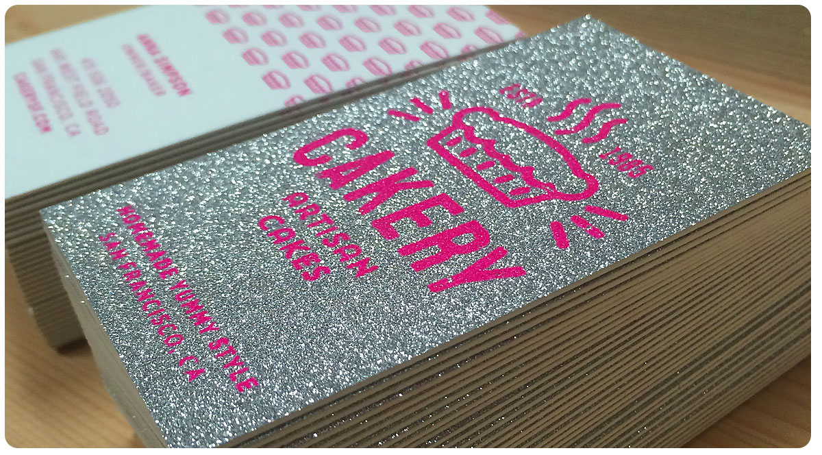 Sparkle Business Cards From Jukeboxprint Com
