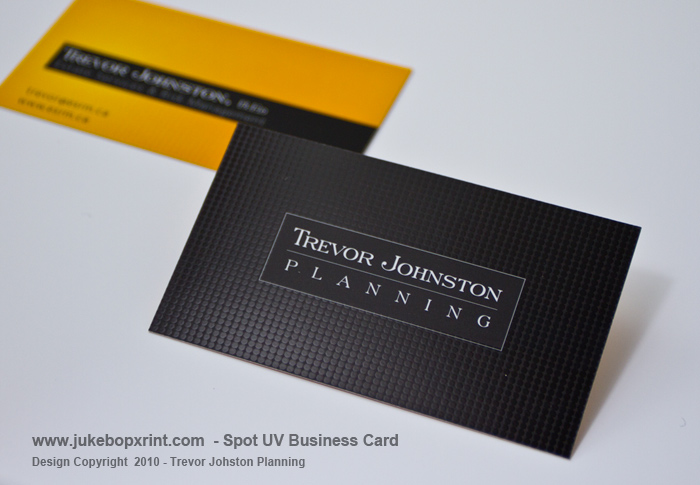 Spot uv full colour premium business cards jukebox print spot uv business card pricing reheart Image collections