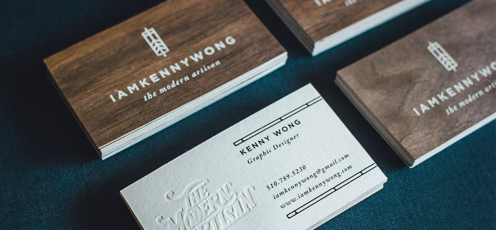 Wooden Business Cards Printed Wood That Looks Natural